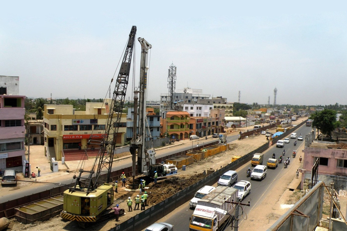 Chennai Evelated Highway Project, Chennai