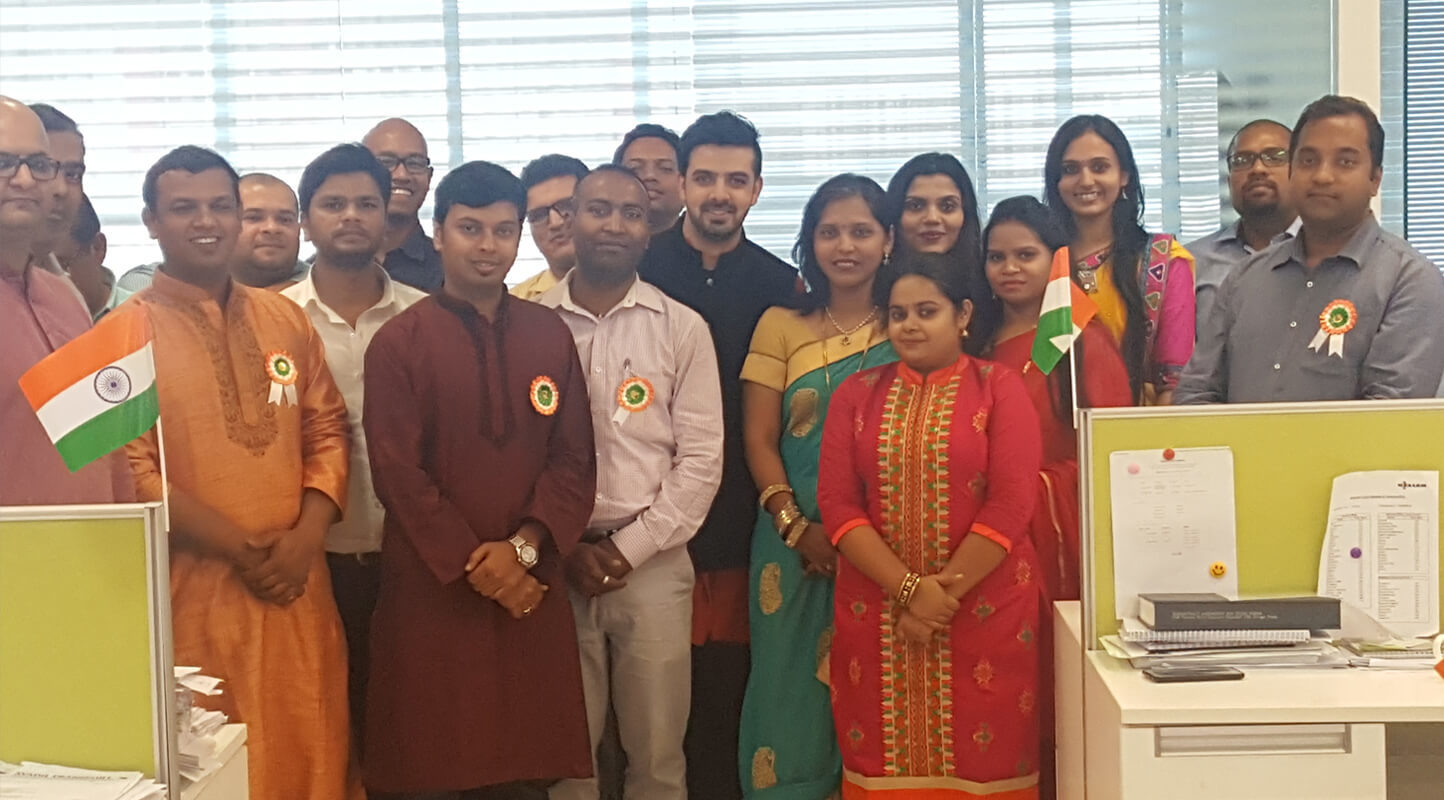 Republic Day Celebration at Mumbai Office