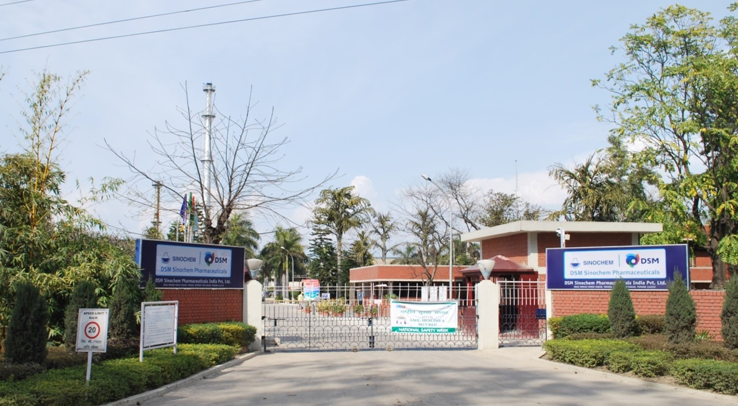 DSM Sinochem Pharmaceuticals India Pvt Ltd, Ropar