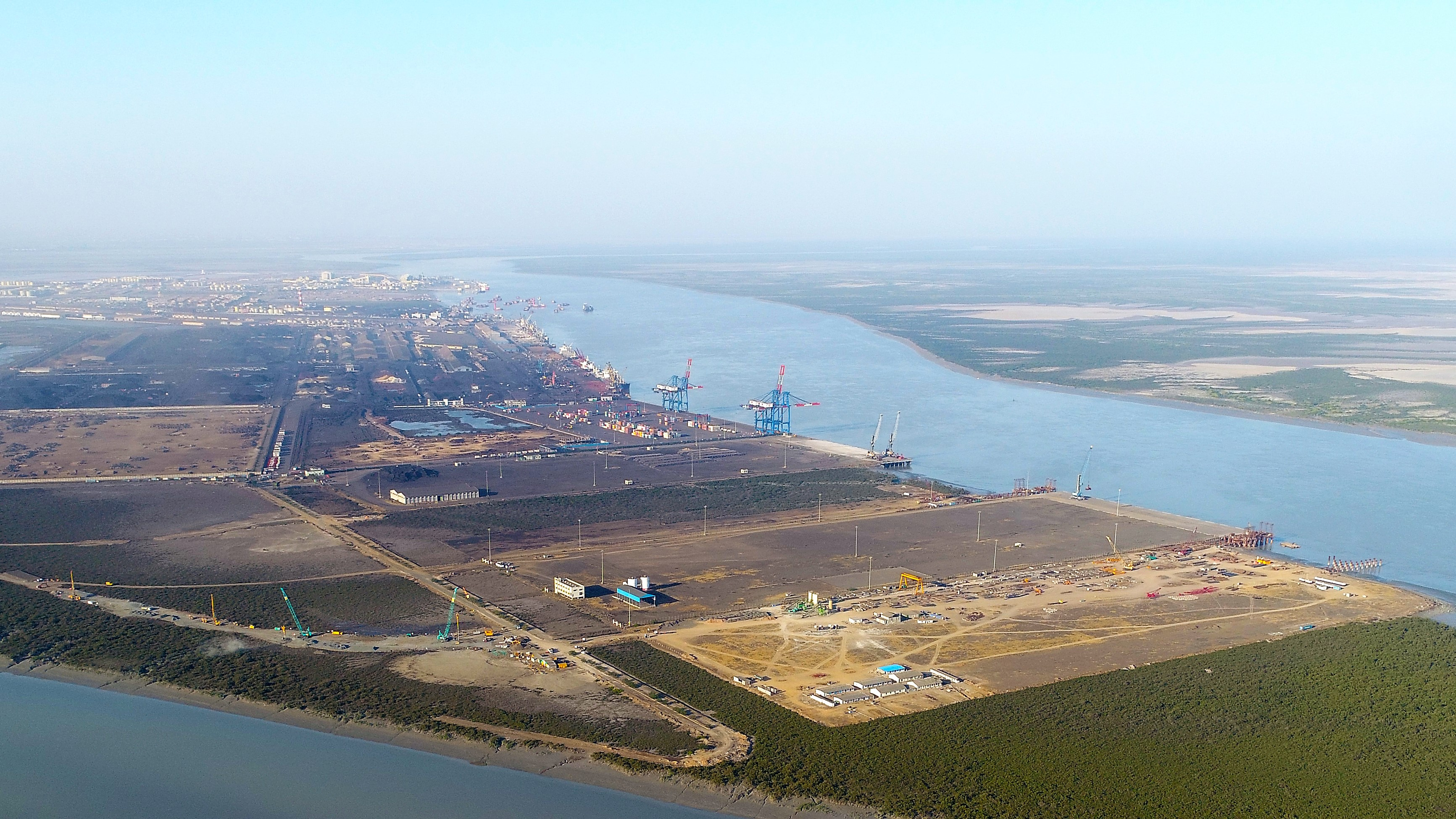 ports and harbours in india